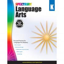 CD-704587 - Spectrum Language Arts Gr K in Language Skills
