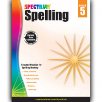 CD-704601 - Spectrum Spelling Gr 5 in Spelling Skills