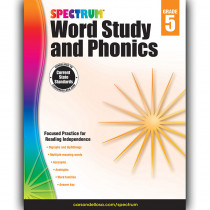 CD-704608 - Spectrum Gr 5 Word Study And Phonics in Word Skills