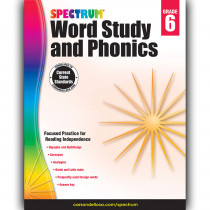 CD-704609 - Spectrum Gr 6 Word Study And Phonics in Word Skills