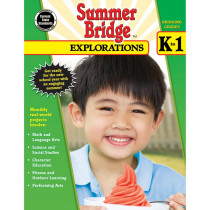 CD-704649 - Summer Bridge Explorations Gr K-1 in Cross-curriculum Resources