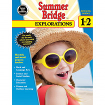 CD-704650 - Summer Bridge Explorations Gr 1-2 in Cross-curriculum Resources