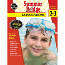 CD-704651 - Summer Bridge Explorations Gr 2-3 in Cross-curriculum Resources