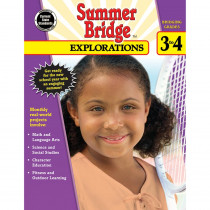 CD-704652 - Summer Bridge Explorations Gr 3-4 in Cross-curriculum Resources