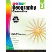 CD-704658 - Spectrum Geography Communities Gr 3 in Geography