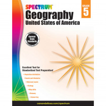 CD-704660 - Spectrum Geography United States Of America Gr 5 in Geography
