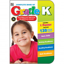 CD-704670 - Complete Book Of Gr K in Cross-curriculum Resources