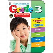 CD-704673 - Complete Book Of Gr 3 in Cross-curriculum Resources