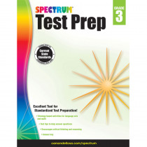 CD-704683 - Spectrum Test Prep Gr 3 in Cross-curriculum
