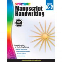 CD-704691 - Spectrum Manuscript Handwriting Gr K-2 in Handwriting Skills