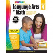 CD-704693 - Spectrum Language Arts & Math Gr 4 in Cross-curriculum Resources