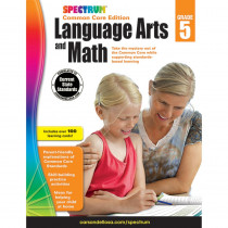 CD-704694 - Spectrum Language Arts & Math Gr 5 in Cross-curriculum Resources