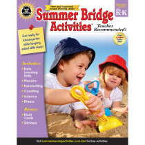 CD-704695 - Summer Bridge Activities Gr Pk-K in Skill Builders