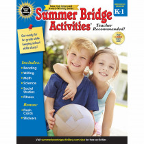 CD-704696 - Summer Bridge Activities Gr K-1 in Skill Builders
