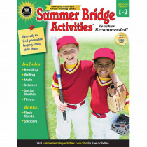 CD-704697 - Summer Bridge Activities Gr 1-2 in Skill Builders
