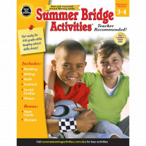 CD-704699 - Summer Bridge Activities Gr 3-4 in Skill Builders