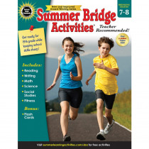 CD-704703 - Summer Bridge Activities Gr 7-8 in Skill Builders