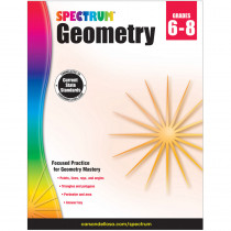 CD-704704 - Spectrum Geometry Gr 6-8 in Geometry