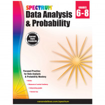 CD-704705 - Spectrum Data Analysis Probability Gr 6-8 in Probability