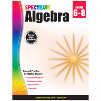 CD-704706 - Spectrum Algebra Gr 6-8 in Algebra