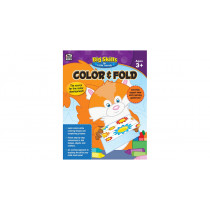 CD-704914 - Color & Fold Grades Pre K - K in Gross Motor Skills