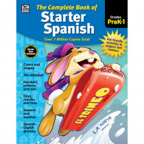 CD-704928 - Complete Book Of Starter Spanish in Books