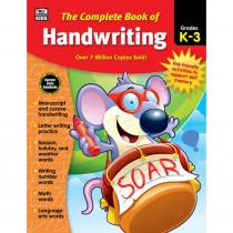 CD-704930 - Complete Book Of Handwriting Gr K-3 in Handwriting Skills