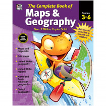 CD-704931 - Complete Book Of Maps & Geography in Geography