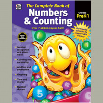 CD-704933 - Complete Book Of Numbers & Counting in Counting