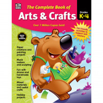 CD-704935 - Complete Book Of Arts & Crafts in Art Activity Books