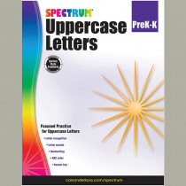 CD-704970 - Uppercase Letters Gr Pk-K in Letter Recognition