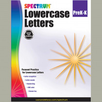 CD-704971 - Lowercase Letters Gr Pk-K in Letter Recognition