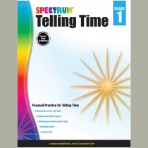 CD-704980 - Telling Time Gr 1 in Time