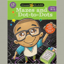 CD-704996 - Mazes And Dot-To-Dots Gr K-1 in Art Activity Books