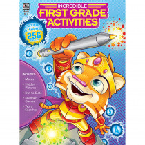 CD-705031 - Incredible First Grade Activities in Classroom Activities