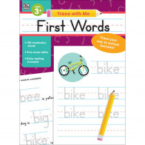 CD-705219 - Trace With Me First Words in Word Skills