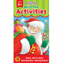 CD-705280 - North Pole Activities Ages 4 - 5 My Take-Along Tablet in Holiday/seasonal