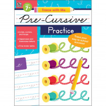 CD-705302 - Trace With Me Pre-Cursive Practice in Handwriting Skills