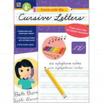 CD-705303 - Trace With Me Cursive Letters in Handwriting Skills