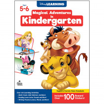 Magical Adventures in Kindergarten Workbook, Grade K, Paperback - CD-705370 | Carson Dellosa Education | Classroom Activities