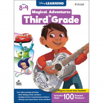Magical Adventures in Third Grade Workbook, Grade 3, Paperback - CD-705373 | Carson Dellosa Education | Classroom Activities