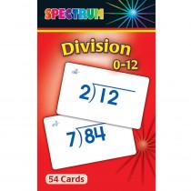 CD-734009 - Spectrum Flash Cards Division 0-12 Gr 3-5 in Flash Cards