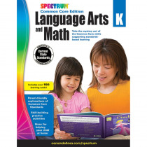 CD-734043 - Spectrum Language Arts & Math K in Cross-curriculum Resources
