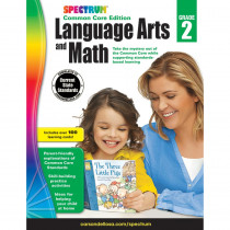 CD-734045 - Spectrum Language Arts & Math Gr 2 in Cross-curriculum Resources
