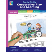 Cooperative Play and Learning Resource Book, Grade PK-2, Paperback - CD-804114 | Carson Dellosa Education | Character Education