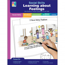 Learning about Feelings Resource Book, Grade PK-2, Paperback - CD-804115 | Carson Dellosa Education | Character Education