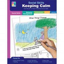 Keeping Calm Resource Book, Grade PK-2, Paperback - CD-804116   Carson Dellosa Education   Character Education