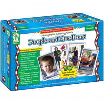 CD-D44044 - People And Emotions Learning Card Set in Cross-curriculum Resources