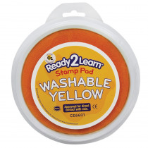 CE-6601 - Jumbo Circular Washable Pads Yellow Single in Paint