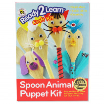CE-6902 - Ready2learn Craft Kit Spoon Animals in Art & Craft Kits